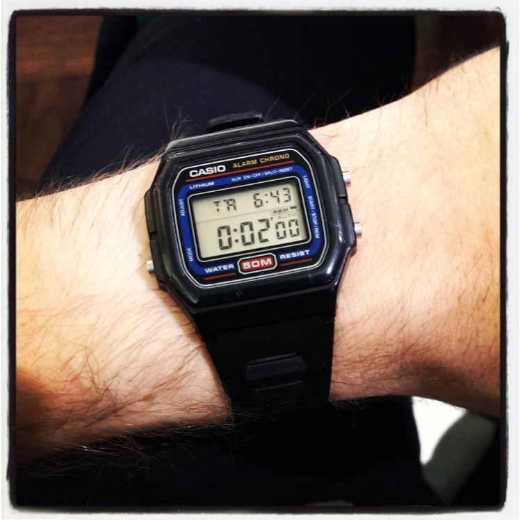 Casio with 2 minute Countdown