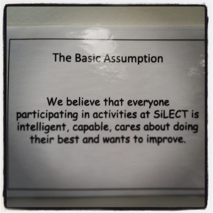 The Basic SiLECT Assumption