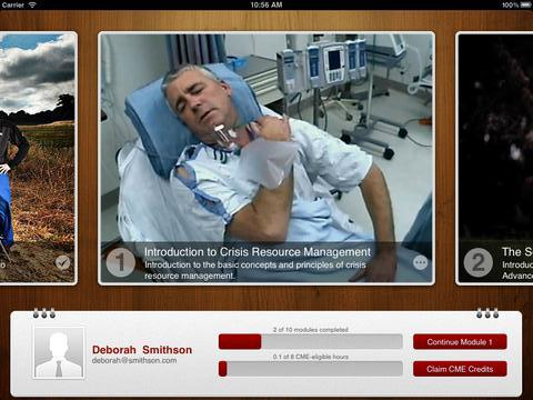 STANFORD IPAD COURSE - CRISIS CODE