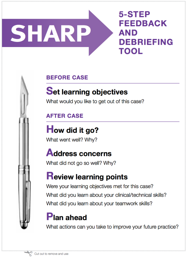SHARP Evaluation Tool
