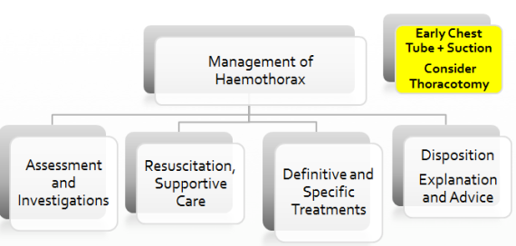 Haemothorax Approach