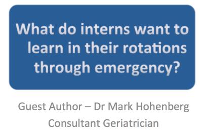 what do interns do